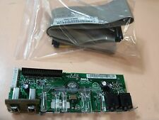 Dell Dimension 5150 Front I/O panel (X8682) USB/Audio/LED with data cable Y5393