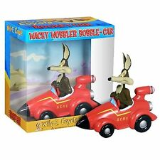 FUNKO LOONEY TUNES WILE COYOTE ACME ROCKET CAR BOBBLE HEAD WACKY WOBBLER NEW