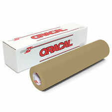 """ORACAL 651 or 631 VINYL SHEETS 12"""" x 10 Feet Roll Assorted Colors to Choose From"""