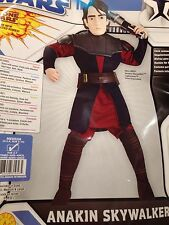 NWT Star Wars Clone Wars Sz Large about 10-12 - Anakin Skywalker Costume & Mask