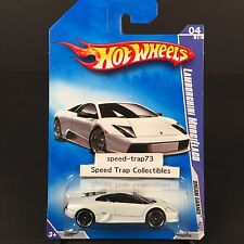 Hot Wheels Lamborghini Murcielago 2009 Dream Garage 4/10 #150 White