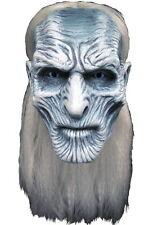 Game Of Thrones White Walker Deluxe Licensed Latex Mask With Hair