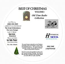 CHRISTMAS OLD TIME RADIO COLLECTION (VOL 01) - 189 Shows MP3 Format OTR 2 CDs
