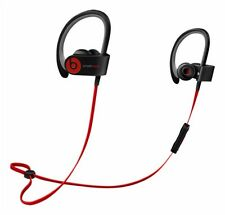 Beats by Dr. Dre Powerbeats2 Wireless Ear-Hook Wireless Headphones in Black/Red