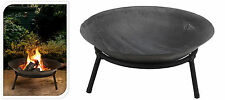 Cast Iron Garden Fire Pit Basket Patio Heater Log Wood Charcoal Burner Brazier