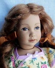 "Heidi Ott Little Ones 12"" Unknown GIRL With Red Hair & Brown eyes, later doll"