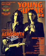 Young Guitar Feb/02 AEROSMITH John Petrucci Mattias IA Clapton Priest Bodom Alex
