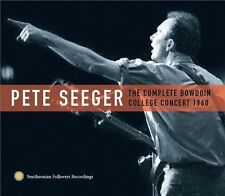 PETE SEEGER THE COMPLETE BOWDOIN COLLEGE CONCERT 1960 NEW UNSEALED PROMO 2CD SET