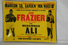 "1971 Muhammad Ali vs. Joe Frazier, Fight of the Century Candy Dish 7"" x 9"", NM"