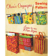 Kwik Sew K3900 Learn to Sew for Fun Pattern Olivia's Organisers OSZ BN