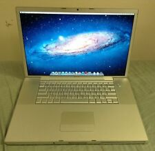 "17"" CUSTOM APPLE MACBOOK PRO LAPTOP 2.4GHZ 1TB HDD 4GB DVD NEW BATTERY ANTIGLARE"