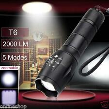 2000lm X800 Flashlight Cree XML T6 LED Zoomable Military G700 Battery Torch