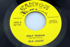 Ola Louise: Only Human / Winter, Summer, Fall and Spring  [NEW & Unplayed]