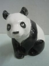 Antique Sculpture Statue Figures Figurine Panda Macau porcelain (1)