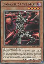 YU-GI-OH CARD: ENGRAVER OF THE MARK - BOSH-EN041