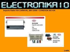 Soporte Radio KIA CARNIVAL 2001-2006 + CONEXION ISO KIA