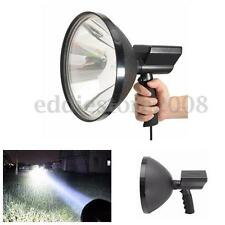 "12V 100W HID 9"" Xenon Handheld Camping Hunting Fishing Super Light Spotlights"