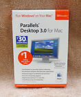 Parallels Desktop 3.0 For Mac Run Windows on Your Mac!!! NEW IN RETAIL BOX
