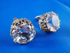 BeH Bengt Hallberg Modernist Ohrclips 925 Silber Sweden vintage Ohrringe Design