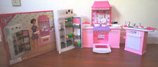 GLORIA DOLL FURNITURE Dulexe KITCHEN W/REFRIGERATOR & Sink (9986)