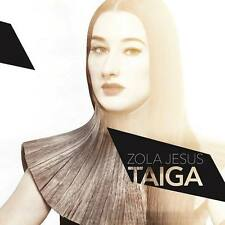 ZOLA JESUS Taiga LP Vinyl Limited Clear Smoky + MP3 Dangerous Days * NEW