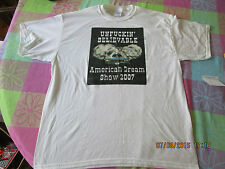 2007 American Dream Show Cars Trucks Motorcycles white T-Shirt size XL NOS