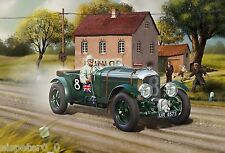 Bentley 4,5L Blower, Revell Auto Modell Bausatz 1:24, 07007