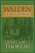 Walden Or, Life in the Woods-ExLibrary
