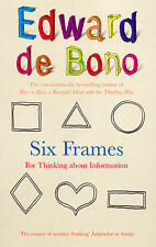Edward De Bono Six Frames: For Thinking About Information Very Good Book