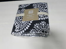 Pottery Barn Teen Punchy Paisley Floral Flowers Bed Duvet Cover full queen f/q