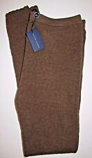 Ralph Lauren Blue Label M 8-10 New Brown Wool Knit Jeggings Leggings Pants $298