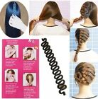 2xFrench Hair Braid Tool Magic Twist Styling Bun Maker Holder Clip Roller Hook