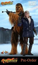 Hot Toys 1/6 MMS376 – Star Wars: The Force Awakens - Han Solo & Chewbacca Set