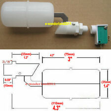"3/8"" Float Switch Water Level Sensor for HydroLogic, Auto Water Pump , Pool Tank"
