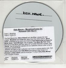 (GU313) Kish Mauve, Morphine / Come On - DJ CD