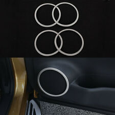 4 Pcs/Lot Stickers Of Door Stereo Speaker Frame For Nissan Qashqai J11 2nd 2014