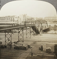 Keystone Stereoview of the Port of Tampico, Mexico From Rare 1200 Card Set # 51