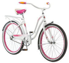 "24"" Schwinn Girl's Huntington Cruiser Bike, White"