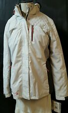 Free Country 3-1 Winter Parka Coat  Size Large Tall White Radiance  Hood