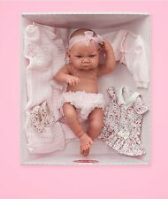 "16"" BIG BABY GIRL DOLL NEW BOXED SPANISH ANTONIO JUAN REAL LIFE LIKE NOT REBORN"