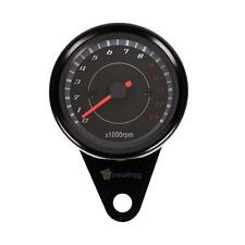 13,000R Universal Backlight LED Tachometer Motorcycle Speedometer Odometer Gauge