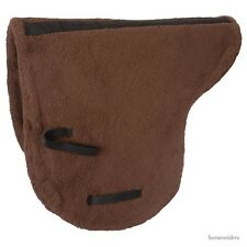 Australian Saddle Pad - Deluxe Fleece - Outrider Collection - Brown