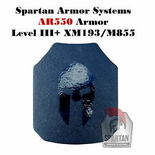 AR550 Spartan Body Armor | Level III+ Advance Triple Curve, Stronger than AR500