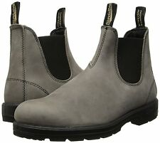 Men's Blundstone Australia BL567 Steel Grey Leather Size UK 7.5/US 8.5 MSRP 170$