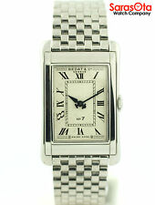 Bedat&Co.No7 Stainless Steel Rectangle 710 Swiss Quartz Analog Dress Men's Watch