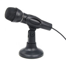 Microphone Mic for Laptop PC Compter MSN Skype Yahoo Web Chat Gaming Online New