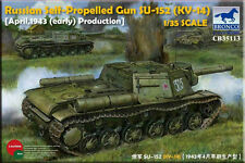 Bronco 1/35 35113 Russian Self-Propelled Gun SU-152 (KV-14) Early Type