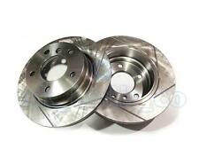 GROOVED Performance REAR Brake Discs BMW 3 Series Coupe (E36) 318 is 1992-95