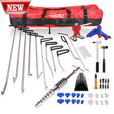 Set PDR Tool Dent Lifter Puller Paintless Repair Kit Glue Car Hail Ding Removal