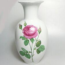 Grande KPM Royal Bavaria VASO ROSE VASO circa 28 x 14 cm Motivo Rose